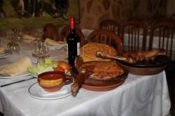Típico Cordero Asádo en Turégano