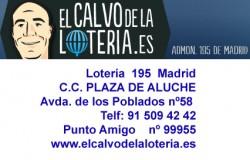 Lotería 195 Madrid