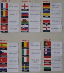 Sorteo Selecciones Eurocopa Futbolchapas Francia 2016