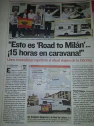 Tureganenses a Milán