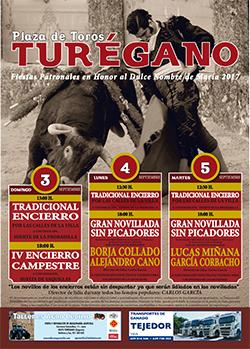 Cartel Toros Turégano 2017